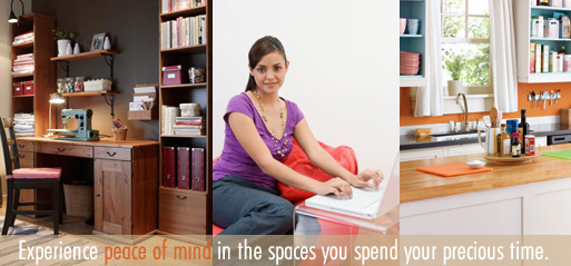 Experience peace of mind in the spaces you spend your precious time